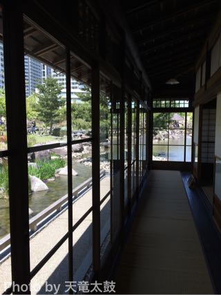 旧清水家住宅書院の廊下